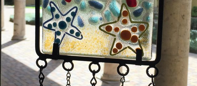 FUSED GLASS WIND CHIME WORKSHOP